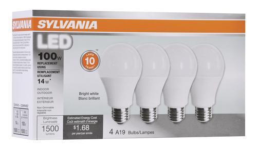 Sylvania General Purpose A19 Led Light Bulb At Menards