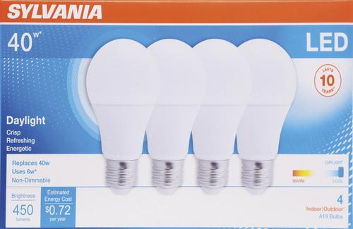 Sylvania A19 Led Light Bulb At Menards
