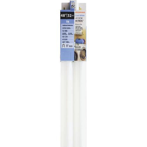 Sylvania 174 48 Quot 48 Quot 32w Cool White T8 Linear Linear