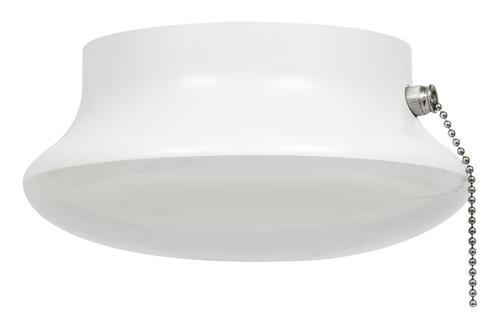 Sylvania White Led Retrofit Flush Mount Ceiling Light With Pull Chain