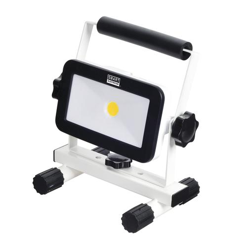 Portable Rechargeable 1,200 Lumen Cool White LED Work Light Lamp AC//DC Input