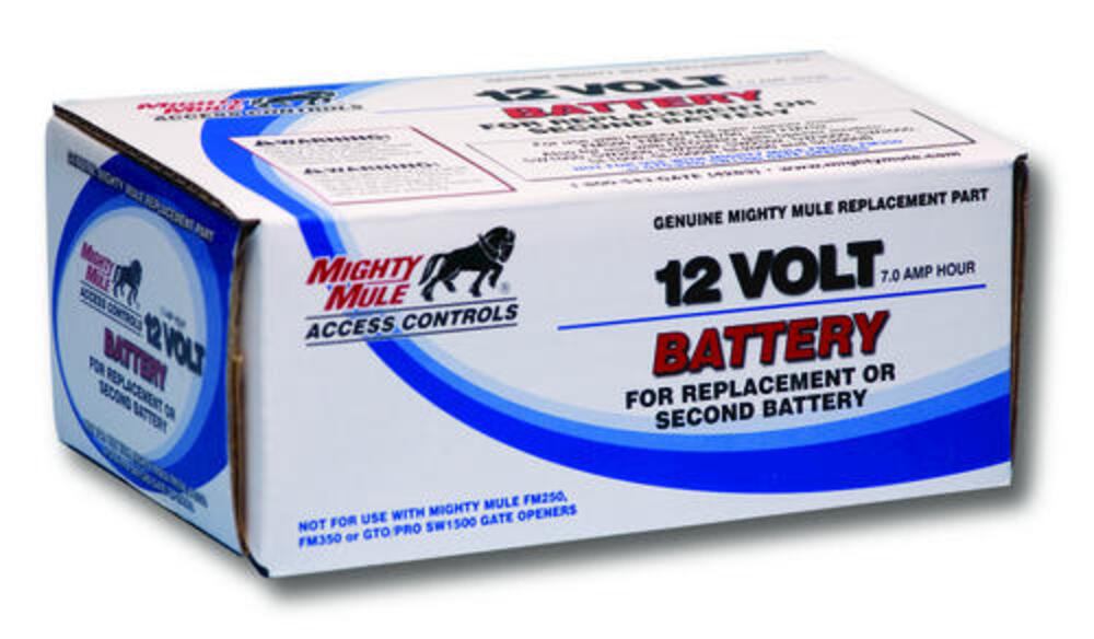 Mighty Mule Replacement Battery For Gto Mighty Mule Automatic Gate Openers At Menards