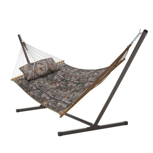 backyard creations   camouflage hammock with stand at menards    rh   menards