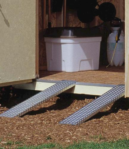ramps with building sheds shed lumber storage ramp