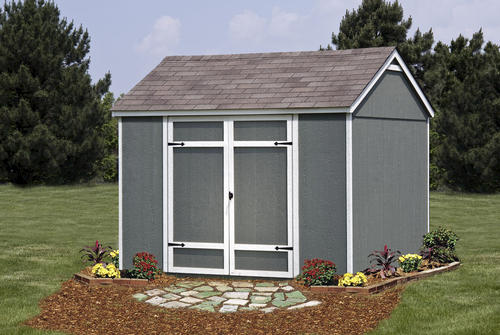 shed master ellington 10 x 8 shed at menards - Garden Sheds Menards