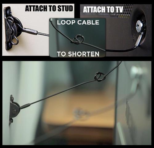 Television Anti Tip Kit At Menards