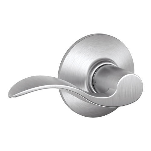 Schlage Accent Satin Chrome Non Handed Hall Closet Page Lever