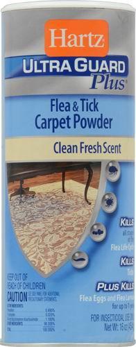 Hartz® UltraGuard Plus® Flea and Tick Carpet Powder - 16 oz