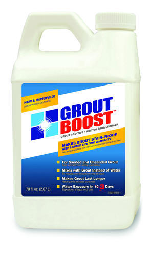 Grout Boost Grout Additive For Sanded And Unsanded Grout 70 Oz At Menards