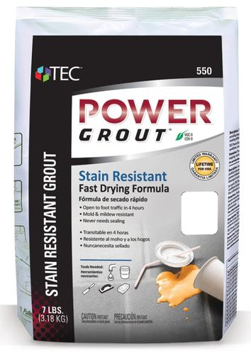 Tec Grout 550 7 Lbs