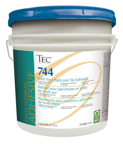 Tec 174 744 Solid Vinyl Plank And Tile Adhesive 4 Gallons