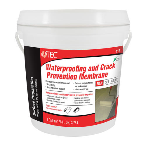 TEC® Waterproofing and Crack Prevention Membrane 418 - 1 gal