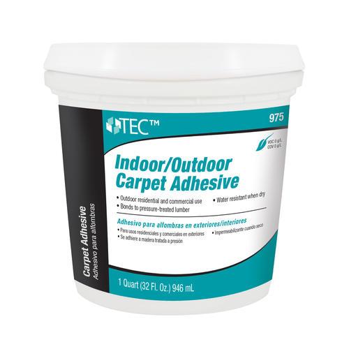 Tec indoor outdoor carpet adhesive 1 quart at menards - Airstone exterior adhesive alternative ...