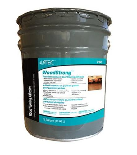Tec Woodstrong Premium Wood Flooring Adhesive 5 Gallons At Menards