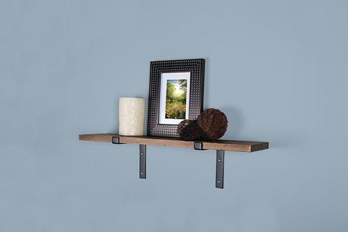 Designer S Image 24 Natural Wood Shelf With Brackets At