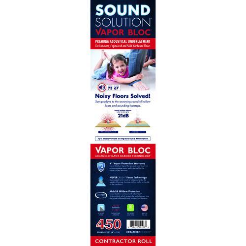 Vapor Bloc Acoustical Underlayment