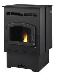 Pelpro Pellet Stove With 60 Lb Hopper 1 500 Sq Ft At