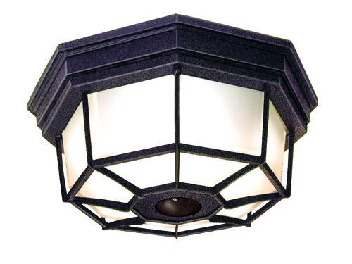 Heath Zenith Octagonal Decorative Ceiling Light Motion Sensor Outdoor Security Light At Menards