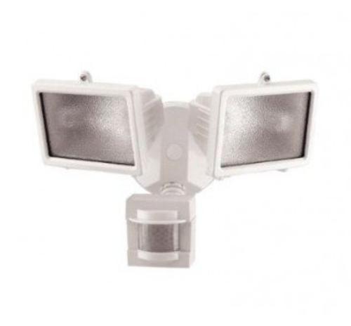 Heath Zenith White Dual Head Motion Sensor Outdoor