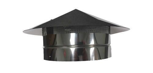 10 Quot Stainless Steel Rain Cap A Vent At Menards 174