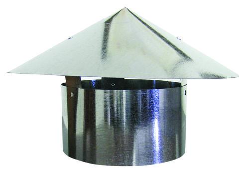 Rain Cap 26-Gauge Duct Fitting at Menards®