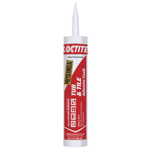 Grey Kitchen And Bath Caulk: Loctite Polyseamseal Tub & Tile Adhesive Sealant