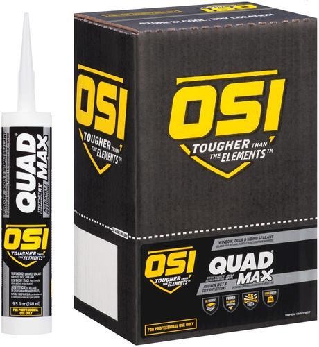Osi Quad Max Window Door Siding Sealant 12 Pk At Menards