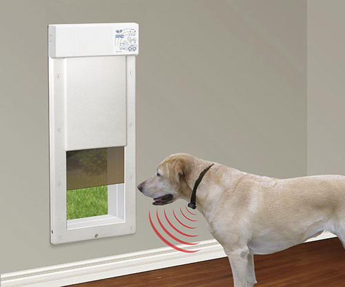 Power Pet Large Fully Automatic Electronic Pet Door For Dogs And
