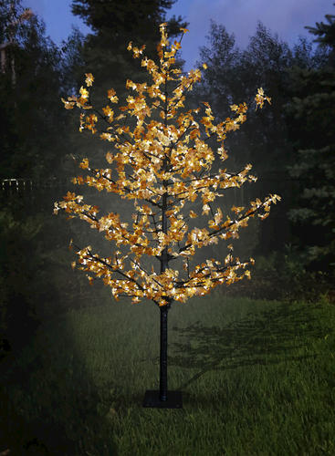 8.5' LED Maple Tree with Yellow Leaves at Menards®
