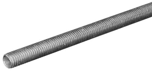"Zinc Plated Right 3//8/""-24 Thread Size 36/"" Length Steel Fully Threaded Rod"