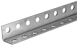 Hillman 174 1 1 4 Quot X 1 1 4 Quot Steel Perforated Angle 16 Gauge