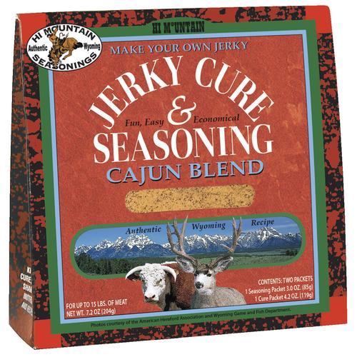 Hi Mountain Cajun Jerky Cure And Seasoning 72 Oz At Menards