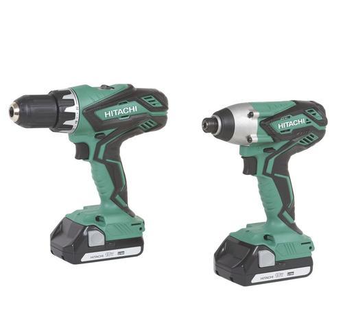 hitachi impact drill. hitachi® 18-volt lithium-ion cordless 1/2\ hitachi impact drill