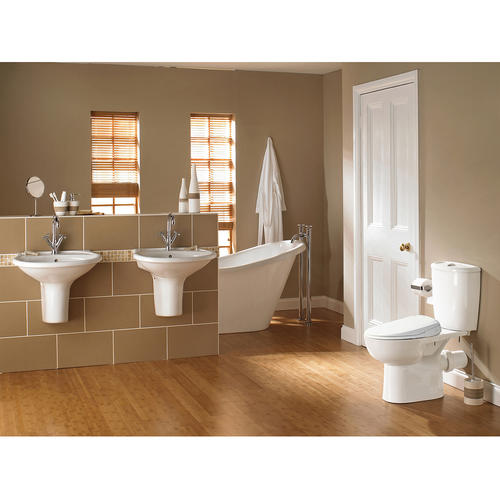 Smartbidet sb 110 elongated white plastic toilet seat at menards malvernweather Image collections