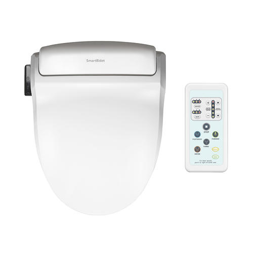 Fabulous Smartbidet Electric White Bidet Toilet Seat For Round Alphanode Cool Chair Designs And Ideas Alphanodeonline