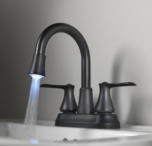 Black Bathroom Sink Faucet