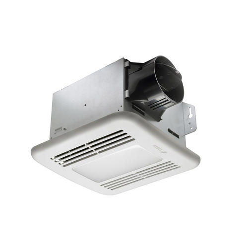 delta breez 50 cfm led ceiling or wall exhaust fan at menards®