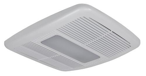 Delta Breez Bathroom Fans Sig80mled Breezsignature 80 Cfm: Delta Breez 80CFM Ceiling Exhaust Bath Fan With Heater At