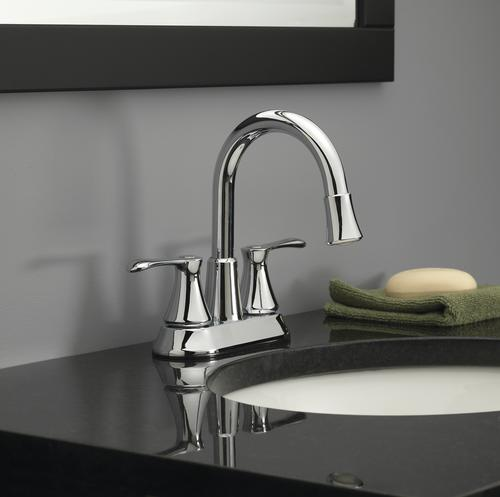 Homewerks Two Handle 4 Centerset Led Bathroom Faucet At Menards