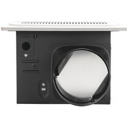 Homewerks 140 CFM Humidity Sensing Bathroom Exhaust Fan at ...