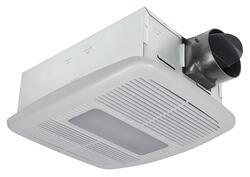 delta breez 80 cfm ceiling exhaust bath fan with heater