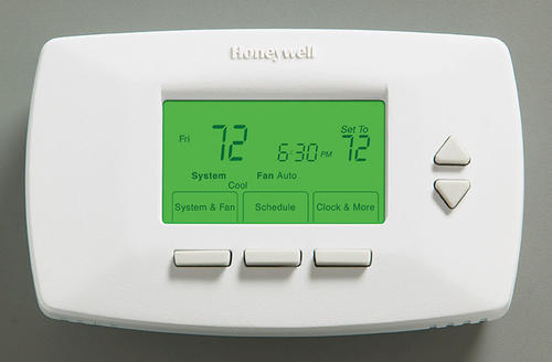 Honeywell 7-Day Vision Deluxe Programmable Thermostat at
