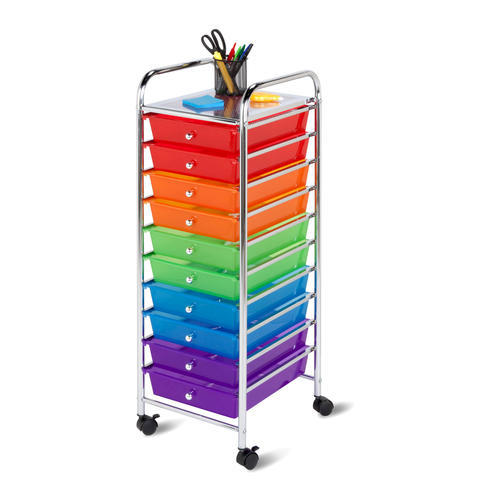 Honey Can Do® 10 Drawer Rolling Storage Cart