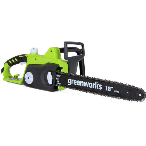 Greenworks 18 145 amp corded electric chainsaw at menards greentooth Images