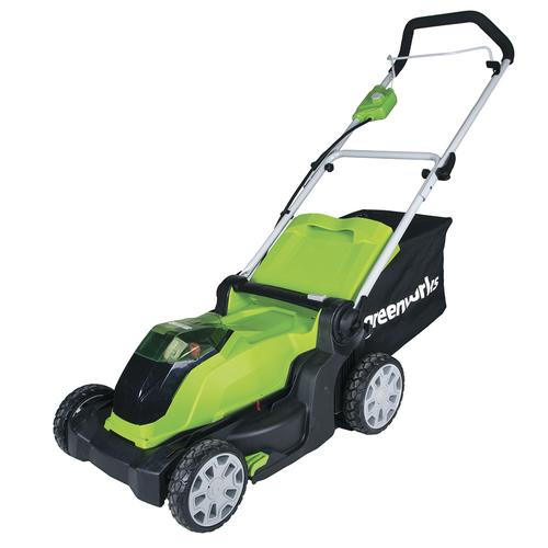 Greenworks 17 Quot 40 Volt Cordless Push Lawn Mower At Menards 174