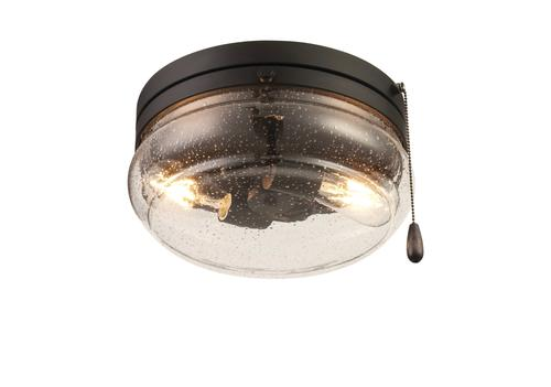 Patriot Lighting Talia Matte Black 2 Light Flush Mount Ceiling Light At Menards