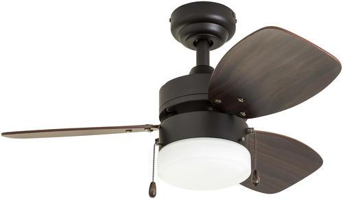 Patriot Lighting Gibson Street 30 Indoor Led Ceiling Fan At Menards