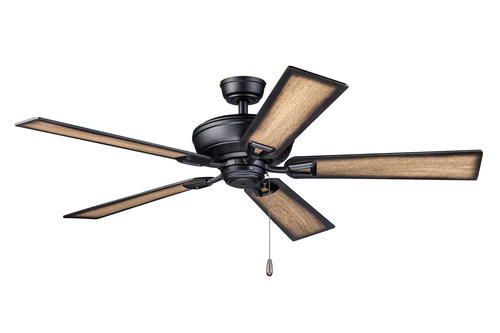 Turn of the century lichfield matte black vintage indoor ceiling turn of the century lichfield matte black vintage indoor ceiling fan at menards mozeypictures Image collections
