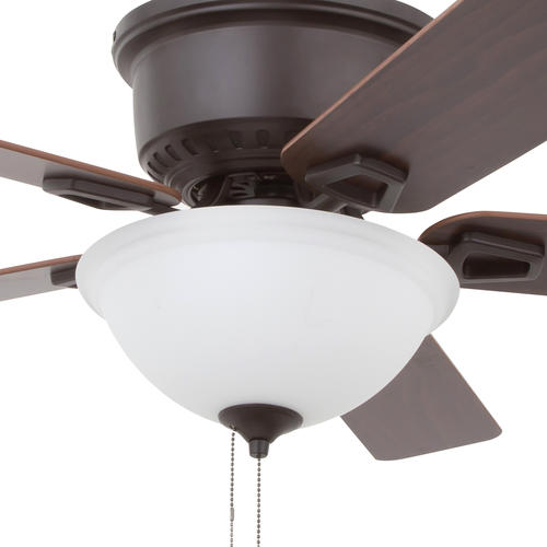 Patriot Lighting Frosted Cased Replacement Glass Bowl For The Alston Ceiling Fan At Menards