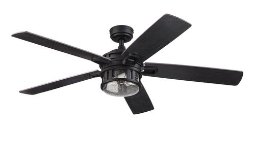 Turn of the century strathmere 52 matte black led ceiling fan at turn of the century strathmere 52 matte black led ceiling fan at menards mozeypictures Image collections